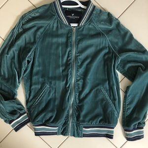 American Eagle Vintage Zip-Up Sweater